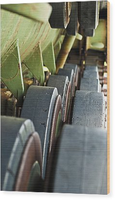Rolling On Wood Print by Christi Kraft