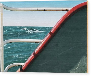 Wood Print featuring the photograph Rolling Wave by Michael Hoard