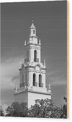 Rollins College Knowles Memorial Chapel Wood Print by University Icons