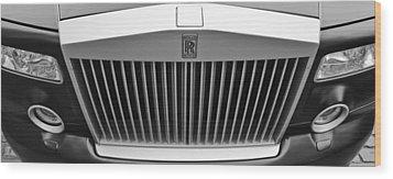 Rolls Royce Wood Print by Maj Seda