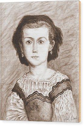 Romaine Lascaux Wood Print by Phil Clark