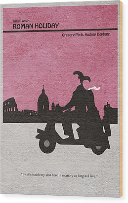 Roman Holiday Wood Print