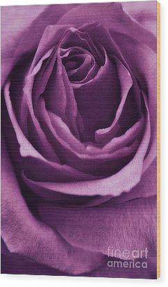 Romance IIi Wood Print by Angela Doelling AD DESIGN Photo and PhotoArt
