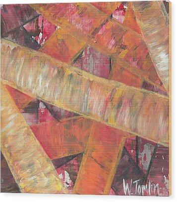 'romans Chapter Eight Vs Twenty Eight' Wood Print