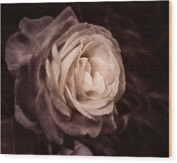 Romantica Wood Print by Mary Zeman