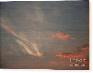 Romantic Sky Wood Print