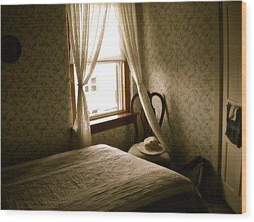 Wood Print featuring the photograph Room301 Irish Inn by Joan Reese
