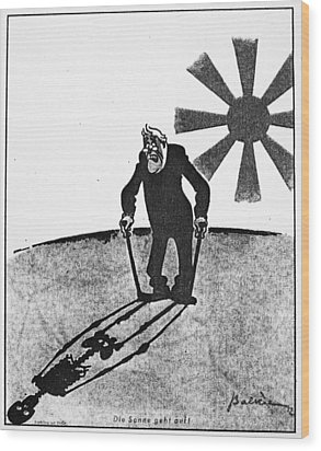 Roosevelt Cartoon, 1941 Wood Print by Granger