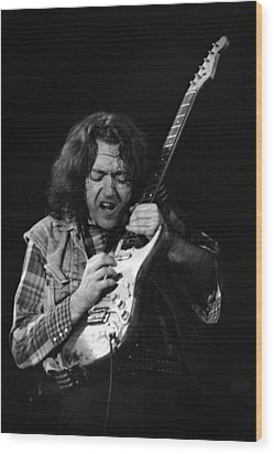 Rory Gallagher 1 Wood Print