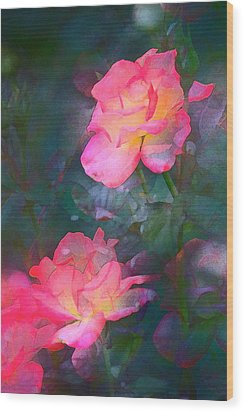Rose 194 Wood Print by Pamela Cooper