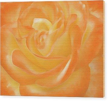 Rose Wood Print by Ben and Raisa Gertsberg