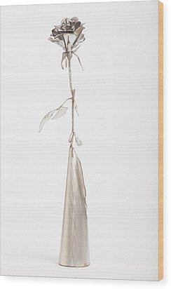 Rose Wood Print by Jon Koehler