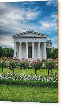 Rose Park Wood Print by Viacheslav Savitskiy
