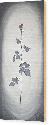 Rose Wood Print by Sven Fischer
