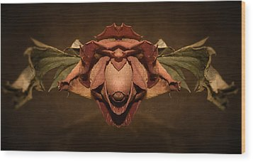 Wood Print featuring the photograph Rosebird by WB Johnston