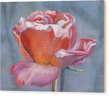 Rosefloria Wood Print by Julie Maas
