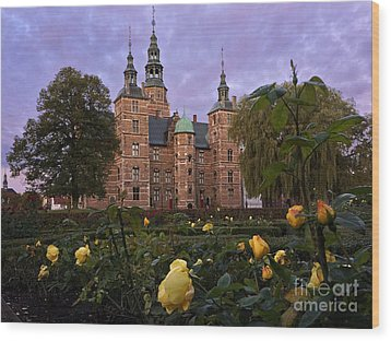 Rosenborg Castle Wood Print by Inge Riis McDonald