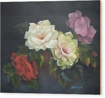 Roses-4-you Wood Print