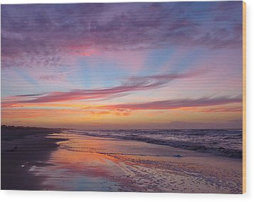 Rosy-fingered Dawn Wood Print