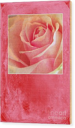 Rosy Wood Print by Randi Grace Nilsberg