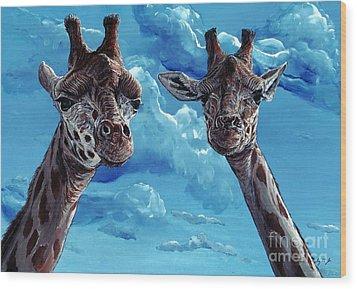 Rothschild Giraffe Wood Print