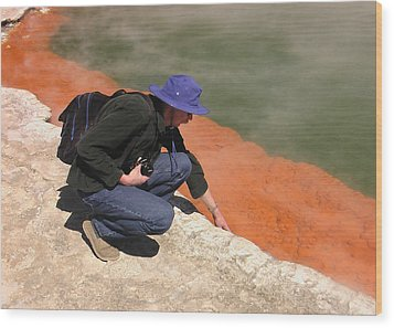 Rotorua New Zealand 2 Wood Print by Mariusz Kula