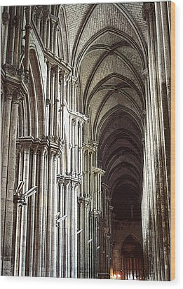 Wood Print featuring the photograph Rouen by Mary Bedy