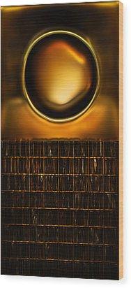 Round And Square Wood Print by Li   van Saathoff