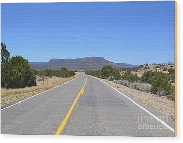 Wood Print featuring the photograph Route 66 In New Mexico by Utopia Concepts