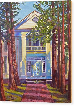 Rowan Oak Wood Print
