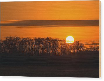 Wood Print featuring the photograph Roxanna Sunrise by Bill Swartwout