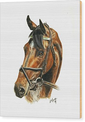Royal Delta Wood Print