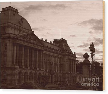 Royal Palace Brussels Wood Print
