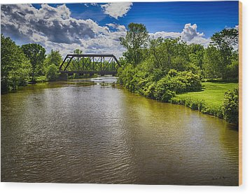 Wood Print featuring the photograph Royal River by Mark Myhaver