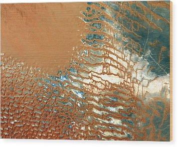 Rub Al Khali Desert Saudi Arabia Wood Print by Anonymous