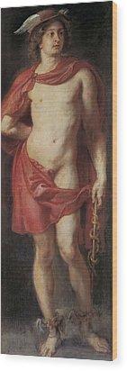 Rubens, Peter Paul 1577-1640. Mercury Wood Print by Everett