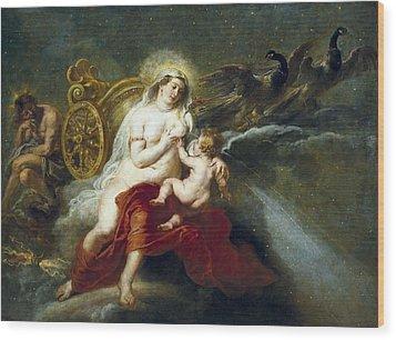 Rubens, Peter Paul 1577-1640. The Birth Wood Print by Everett