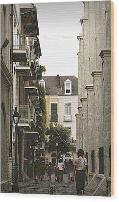 Pere Antoine Alley Wood Print