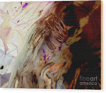 Wood Print featuring the photograph Rumination by Joy Angeloff
