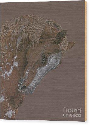Rune Wood Print by Laura Klassen