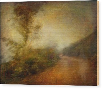 Ruralscape #11 - Rain And Dust Wood Print