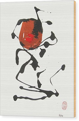 Rushiasurubi No Kuchibiru Wood Print