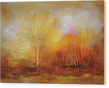 Russet Lane Wood Print