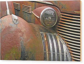 Rust ... The Other Color Wood Print