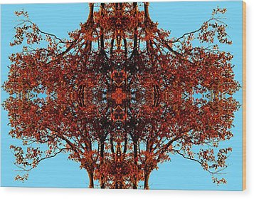 Wood Print featuring the photograph Rust And Sky 3 - Abstract Art Photo by Marianne Dow