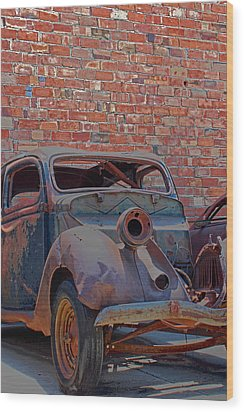 Wood Print featuring the photograph Rust In Goodland by Lynn Sprowl