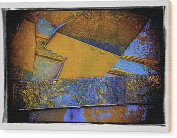 Wood Print featuring the photograph Rust Number 1 by Craig Perry-Ollila