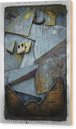 Wood Print featuring the photograph Rust Two by Craig Perry-Ollila