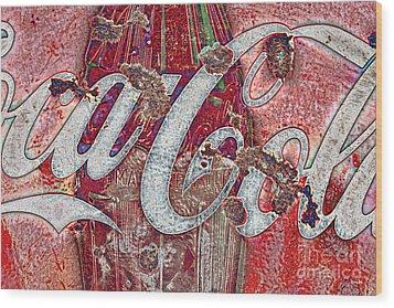 Rusted Memories Wood Print by Scott Pellegrin
