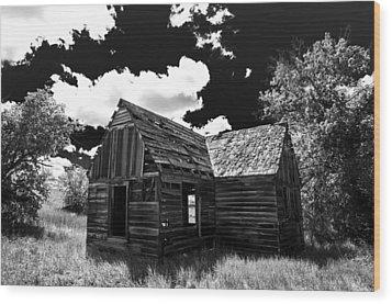 Rustic Barn Wood Print by Scott McGuire